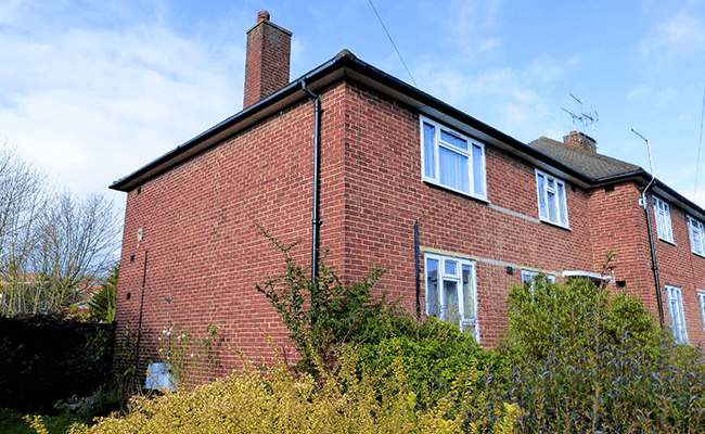 Brick house near Loughton
